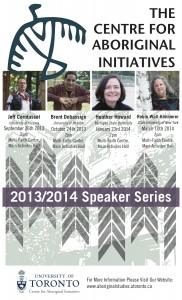 2013-2014 Speaker Series Poster