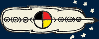 Graphic of a Medicine Wheel
